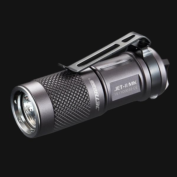 JETBeam II MK JET-II MK Cree XP-L HI LED 510 Lumens Waterproof Flashlight Small size , easy for everyday carry jetbeam jet i mk 480lm cree xp g2 led edc flashlight