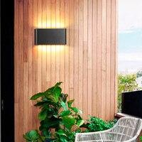 Modern Outdoor Waterproof Staircase Aisle Wall Lamp LED Outdoor Courtyard Wall Light Terrace Balcony Garden Cafe Bar Wall Sconce