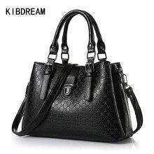KIBDREAM 2016 Neue frauen Schulter Messenger Bags Luxus Designer Marke Frauen Mode Pu-leder Handtaschen Weibliche Bolsa Feminina