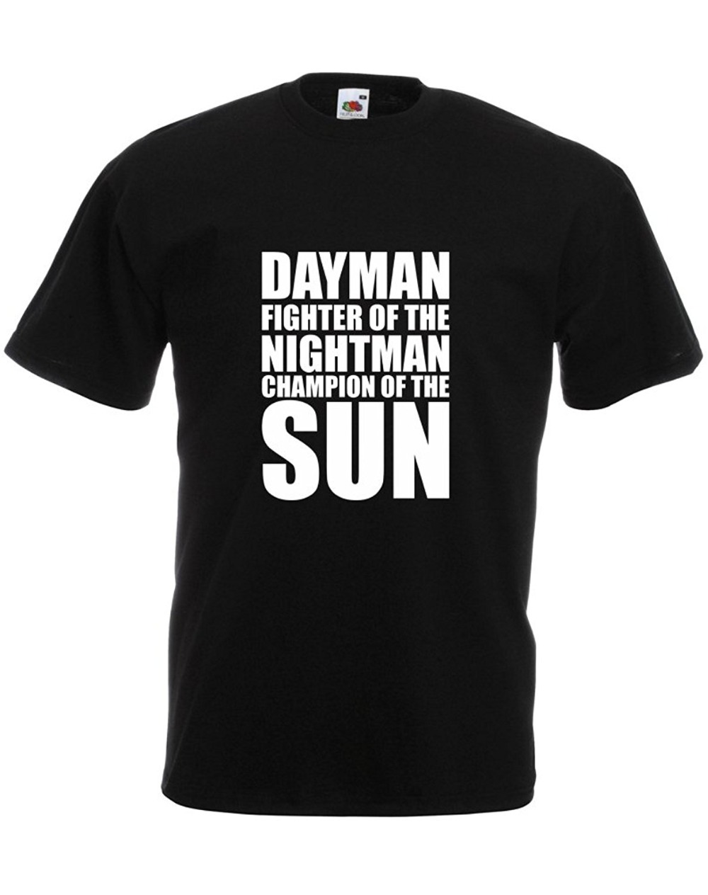2018 Crossfit T Shirts Brand88-Dayman Fighter Of The Nightman, Mens Printed T-Shirt Short Sleeve Printed O-Neck Tee For Men