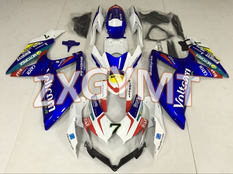 Abs Fairing <font><b>GSX</b></font> R 600 <font><b>2008</b></font> Body Kits GSXR <font><b>750</b></font> 08 09 Abs Fairing <font><b>GSX</b></font> R <font><b>750</b></font> <font><b>2008</b></font> - 2010 K8 image