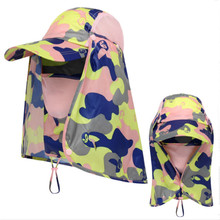 which in shower polyester summer sun hat for women men neck