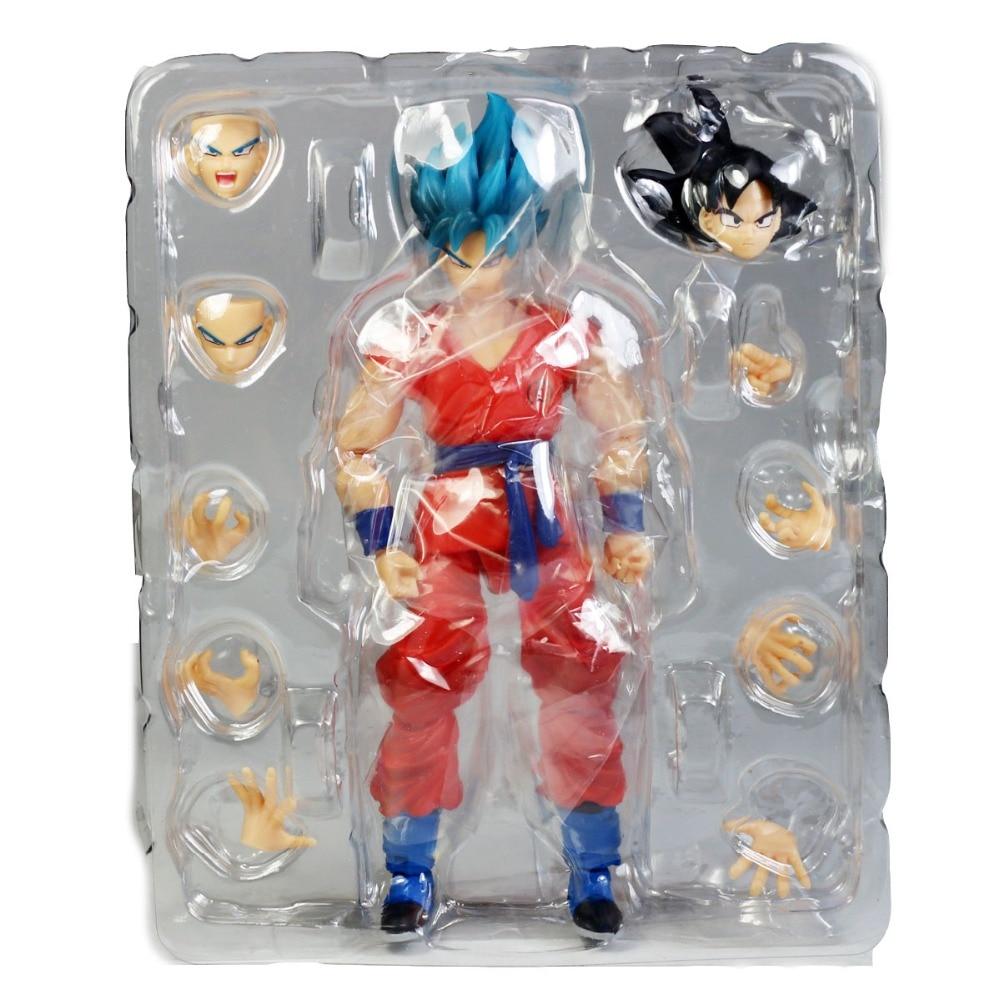 Dragon Ball Z Super Saiyan Goo Super Saiyan Son Gokou 6.3 Action Figure Free Shipping