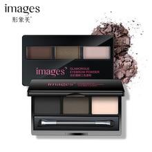 Images Beauty Dazzle Eyebrow Makeup Three Colors Eyebrow Powder Moisturizing Natural Makeup Eyebrow Easy Coloring XXM7505 0779