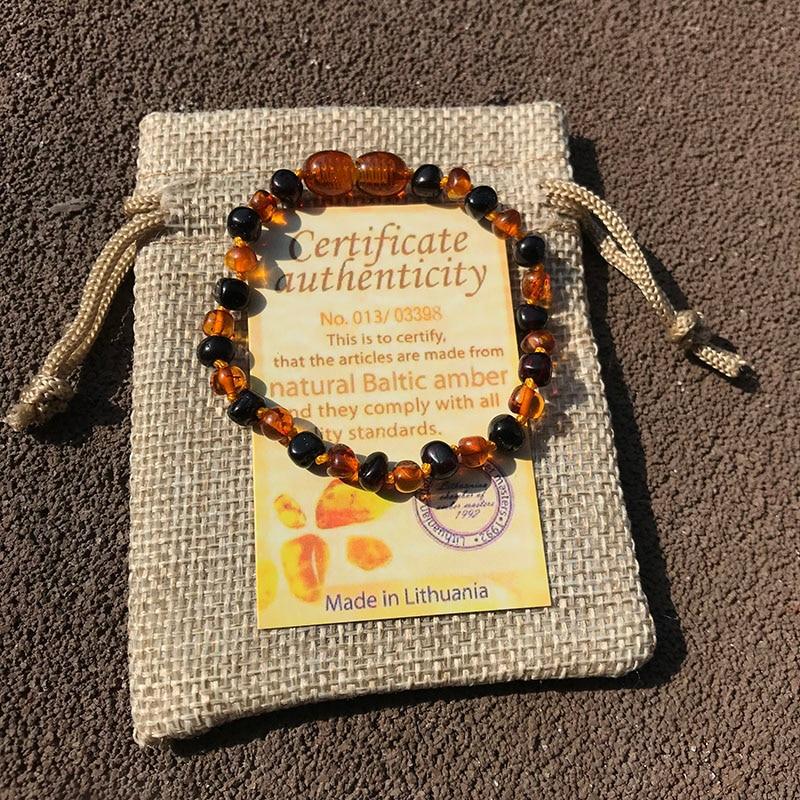 HTB1gJDALMHqK1RjSZFgq6y7JXXav Yoowei 6 Colors Natural Amber Bracelet/Anklet Chic Women Amber Bracelet Baltic 4mm Small Beads Baby Teething Jewelry Wholesaler