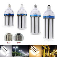 Super Bright E27 E40 35W 45W 55W 65W LED Light Bulb Lamp 85 265V Cylinde Horizontal