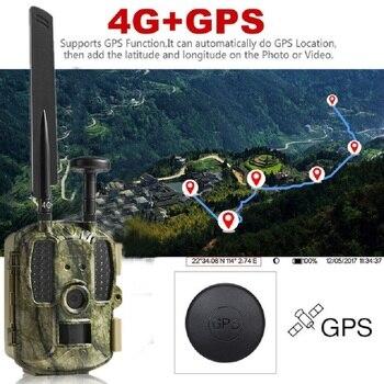 Hunting Camera GPS 4G Scout Guard Night Vision Hunter Camera Chasse Infrared Game Wild Trail Foto Traps Camara De Caza Chasse 3