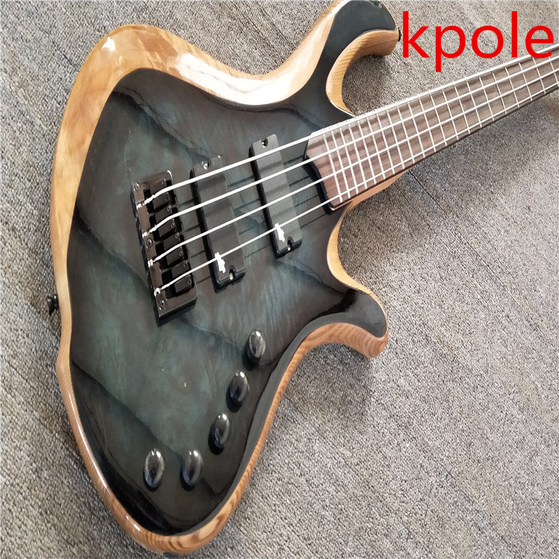 burst color electric bass guitar kpole 4 strings bass guitarra high quality all color are. Black Bedroom Furniture Sets. Home Design Ideas