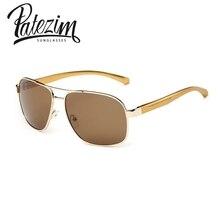 Venta caliente gafas de Sol de Aviador Marco De Aleación Out Door Sport Driving Gafas de Sol Polarizadas de Los Hombres gafas de sol hombre