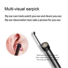 Визуальный наушник или Визуальный Инструмент для чистки ушей HD Универсальный эндоскоп с мини-камерой для чистки ушей или отоскоп инструмент или очиститель ушей
