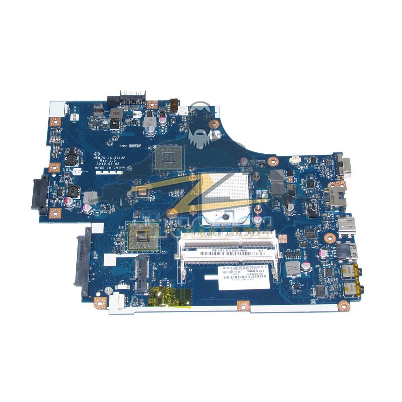 LA-5912P REV 1.0 MBNA102001 for acer aspire 5551 emachines E640 laptop motherboard Socket s1 cpu DDR3 p5we6 la 7092p rev 1 0 mainboard for acer aspire 5253 5250 laptop motherboard ddr3 mbrjy02001 mb rjy02 001