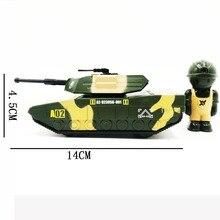 все цены на 1:52 Tank Model Toy Zinc Alloy Car, Military Toys,Metal Castings,Strong Pull Back Force Vehicle,Free Gift Doll онлайн