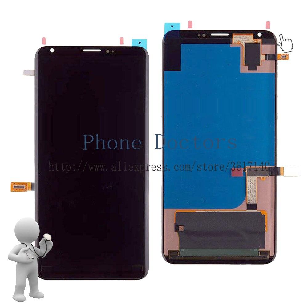 6.0 ''полный ЖК дисплей дисплей + Сенсорный экран планшета Ассамблеи для LG V30 lg h930 h930 us998; черный; Новинка; отслеживания; 100 тестирование
