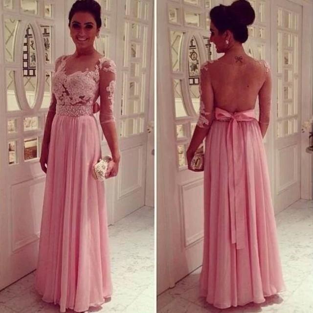 Pura ilusión envío gratuito vestido noche largos elegantes Vestidos ...