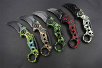 Protable Pocket Knife Folding Hunting Camping Tactical Rescue Surrival Knife Outdoor Survival Tool Karambit Knife CSGO