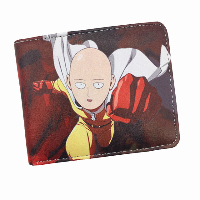 One Punch Man Star Wars Purse Logo Credit Card Holder Cartoon Wallet