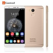 Oukitel U15 Pro 4 Г LTE MTK6753 Окта основные Мобильный Телефон 5.5 «HD 3 ГБ RAM 32 ГБ ROM 16MP Android 6.0 Отпечатков Пальцев Мобильный Телефон