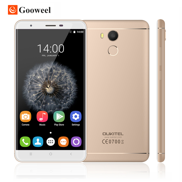 "Oukitel U15 Pro 4G LTE MTK6753 Octa Core Mobile Phone 5.5"" HD 3GB RAM 32GB ROM 16MP Android 6.0 Fingerprint CellPhone"