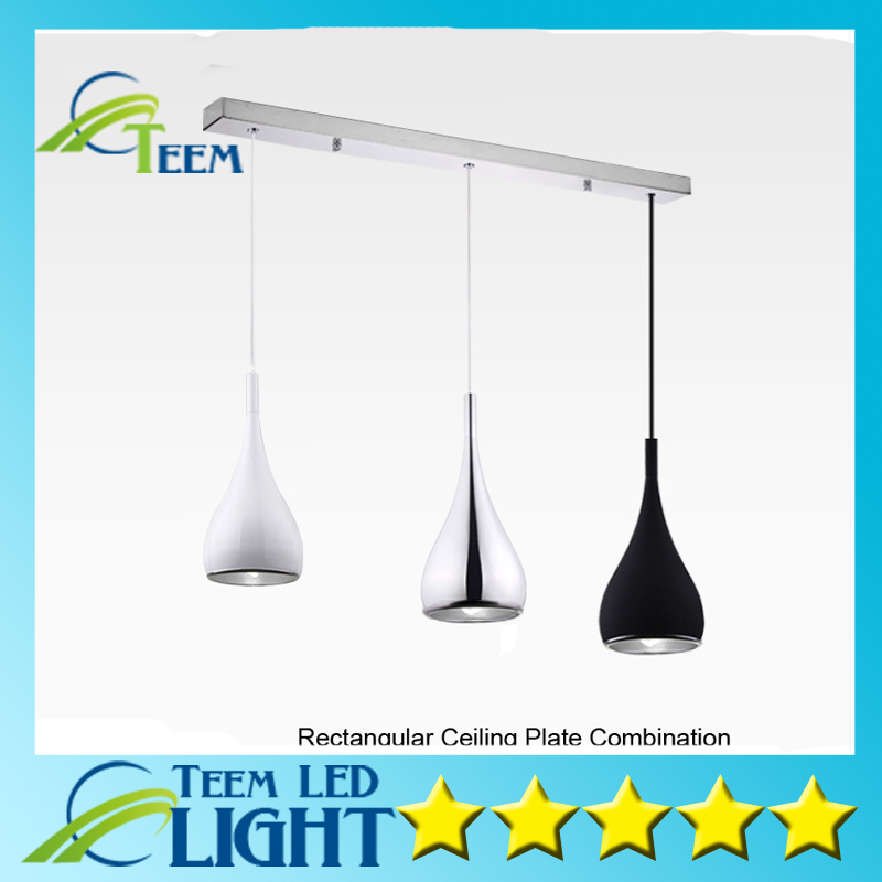 ФОТО Free ship American Style Pendant Lamp Dia16cm*H120cm Kitchen Pendant Light Aluminum/ Chrome 110-240V Three Colors Dinning Light