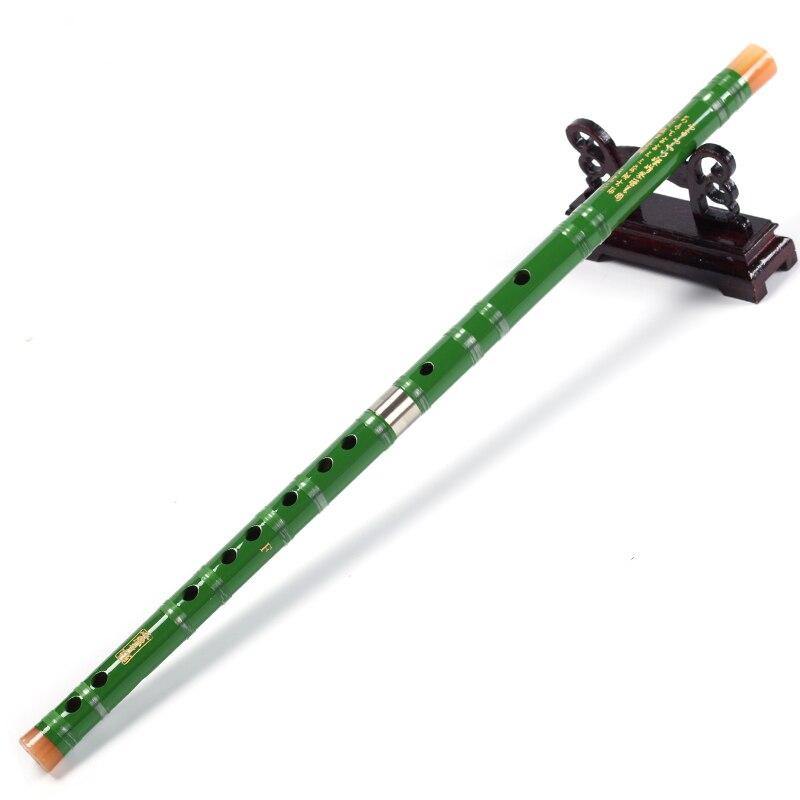 Čína Bambusová flétna Dizi Dvoudílná flétna s otevřeným otvorem C D E F G Klíčenka vhodná pro začátečníky Bambusová flétna DIZI