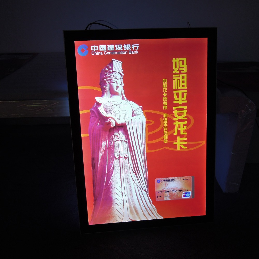 ff4567f8a57 Store Front Light Box Signs with Advertising Light Box for LED Display and  Picture Frame for Slim LED Light Box