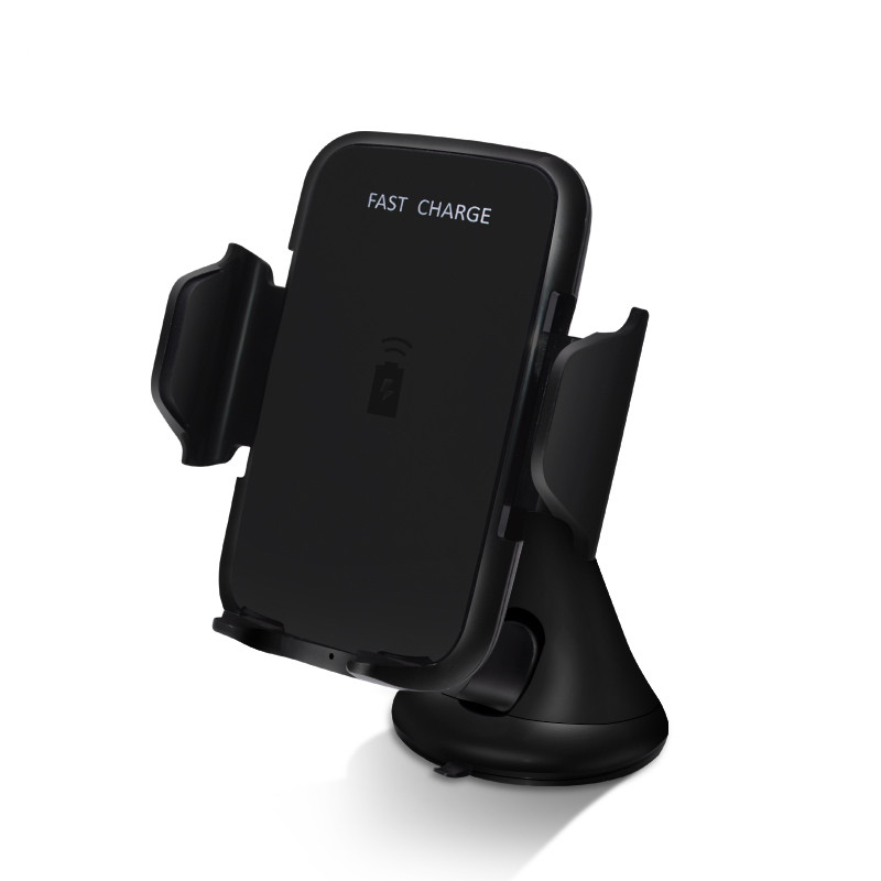 Qi Wireless Charger For iPhone XS MAX XR 8 8 Plus Quick Fast Wireless Charging For Samsung Note 9 S9 S8 Car Phone Holder Stand
