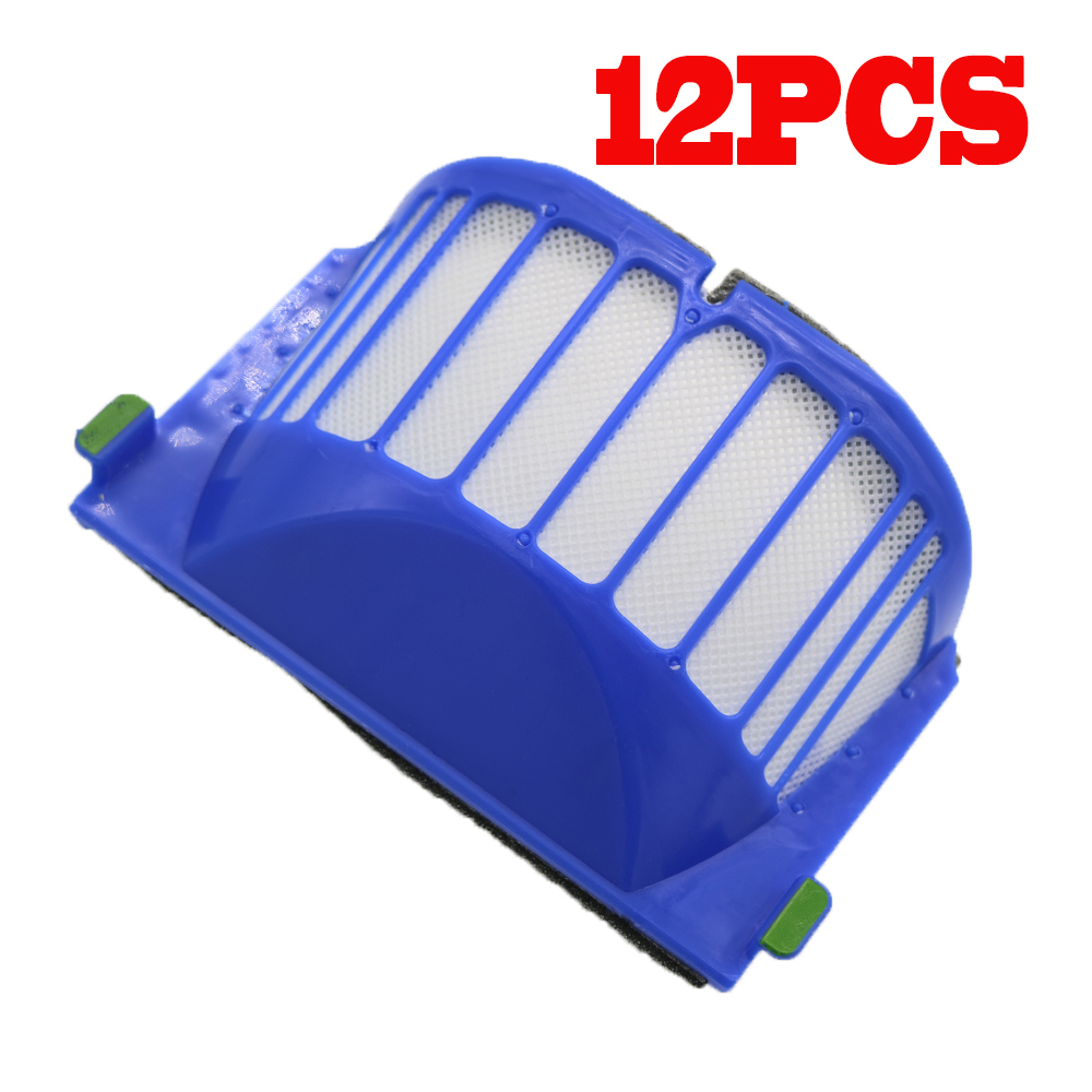 12pcs hepa filter suitable for ROOMBA IROBOT 500 600 SERIES AEROVAC FILTER 528 536 551 552 564 580 595 620 630 65012pcs hepa filter suitable for ROOMBA IROBOT 500 600 SERIES AEROVAC FILTER 528 536 551 552 564 580 595 620 630 650
