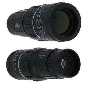 Image 2 - HD 16x52 podwójny ostrości Zoom optyczny dzień i noc wizji monokularowy pojedynczy teleskop Mini przenośne wojskowe Zoom podróży polowanie 5.29