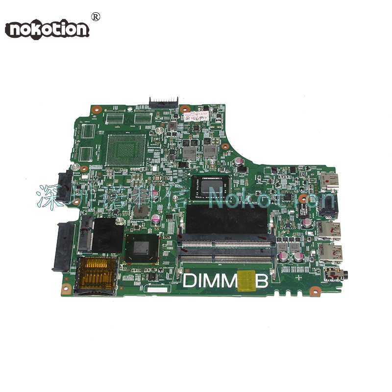 NOKOTION DNE40-CR MB 5J8Y4 CN-07GDDC 07GDDC 7GDDC For board insprion 3421 laptop motherboard SR0U4 I3-2375M купить в Москве 2019