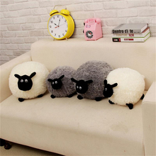 1PC Cartoon Sheep Lamb Doll Plush Toys Kids Children's Baby Birthday Lovely Soft Fluffy Stuffed Toys Brinquedos Xmas For Cushion цена