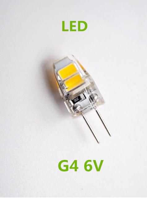10 pz lotto g4 6 v lampadina delle luci dc6v microscopio for Lampadine led 5 watt