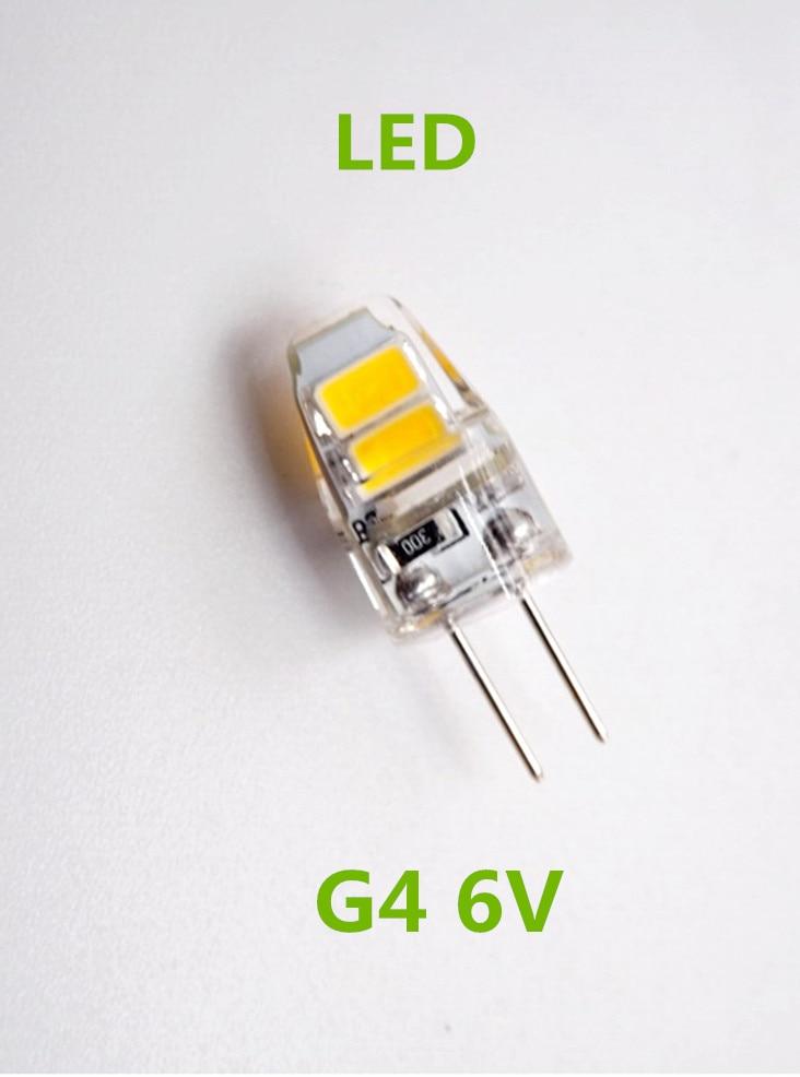 10pcs/lot G4 6V LED bulb lamp lights Led G4 6v Bulb DC 6v g4 led 1w lamp bulb g4 Led 6v 1w-in ...