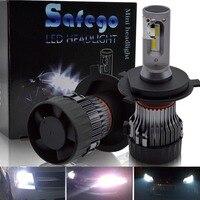H4 Hi Lo H7 H11 LED Car Headlight Kit Safego H8 H9 9005 9006 30W 5000Lm