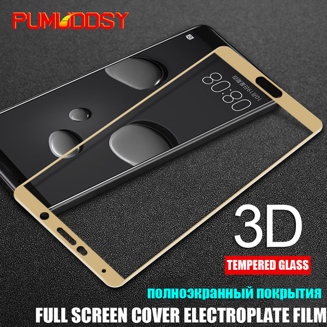 3D Full Cover Tempered Glass For Huawei Mate 9 Mate 10 Lite...