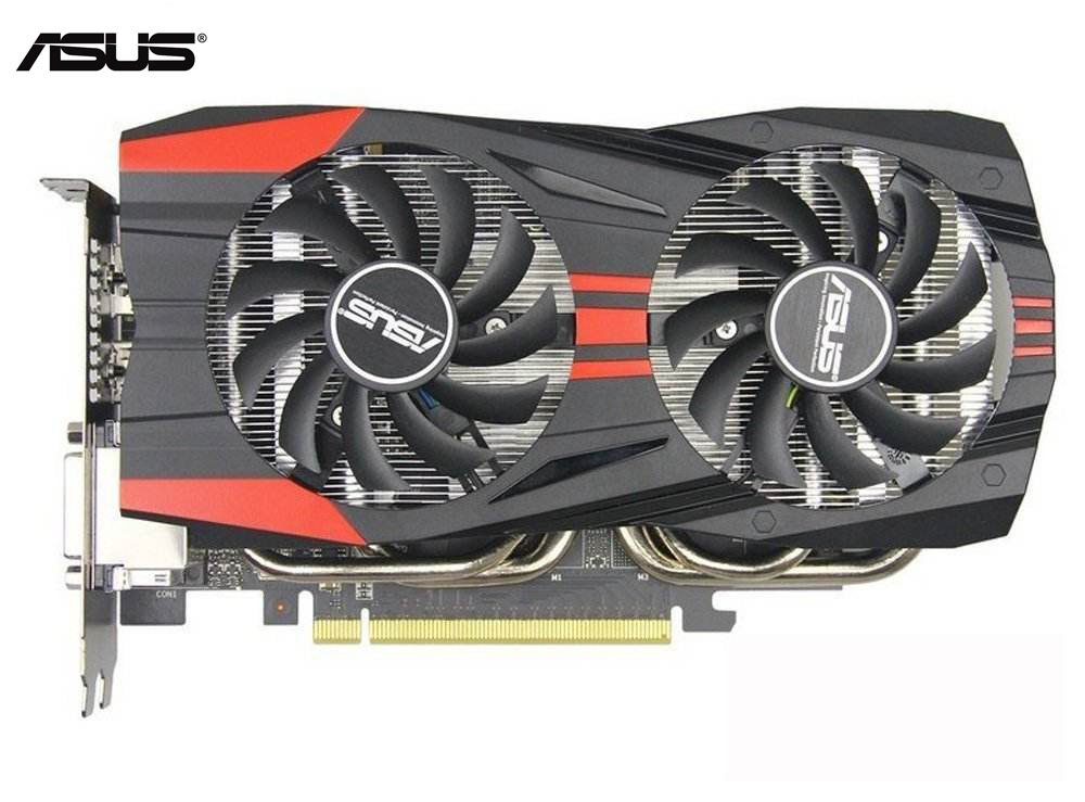 Used,Original ASUS GTX 760 2GB 256Bit GDDR5 Video Cards For NVIDIA VGA Cards Geforce GTX760 HDMI DVI