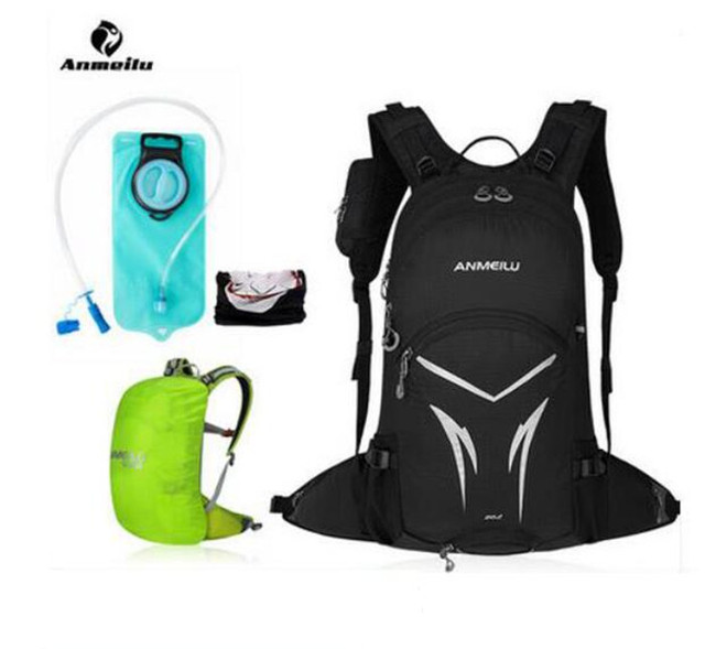 ANMEILU 20L Water Bag Cycling Backpack Waterproof Ultralight Hiking Camping Climbing Travel Rucksack Outdoor Bag Hydration Pack