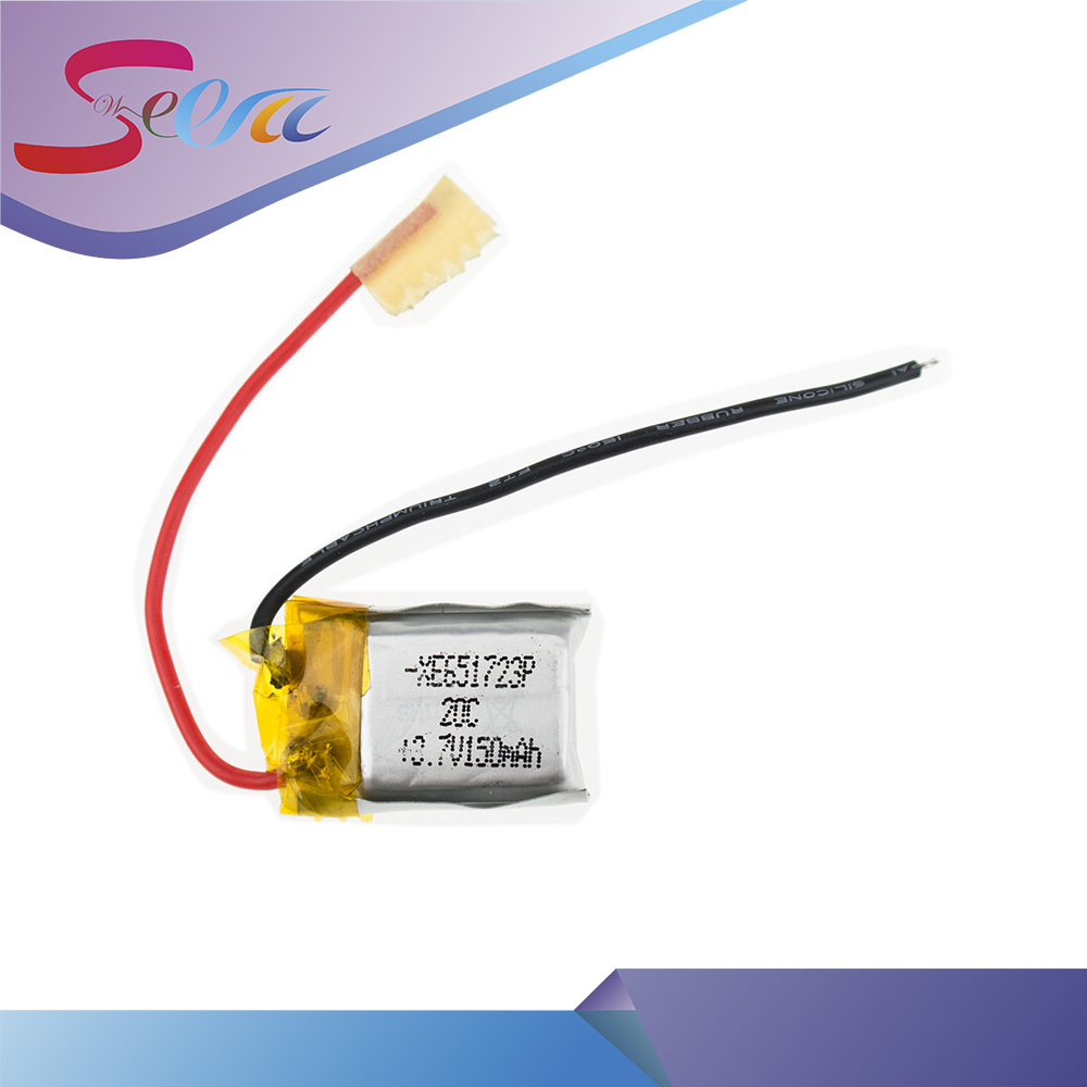 10 шт. 3.7 В 150 мАч lipo Батарея для SYMA S107 S107G регистрация 851723 skytech M3 M3 запасные Запчасти с номер отслеживания