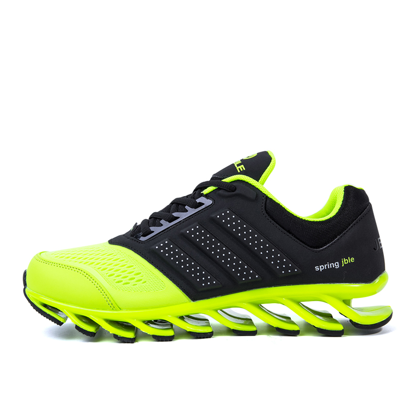 hot sale Formotion Mesh Eva New Sports Running Shoes Men Damping Blade Soles Independent Leaf Stable Soles Men Jogging Shoes