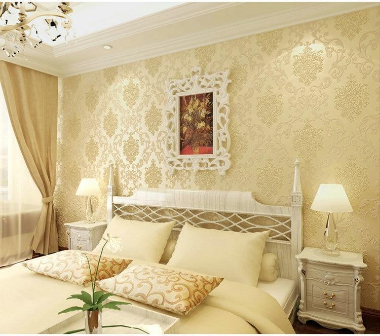 Fantastic Blue Feature Wall Bedroom Photo - Art & Wall Decor ...
