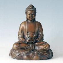 ATLIE BRONZES Chinese  bronze Copper sakyamuni Buddha Statue Religious figure handicrafts