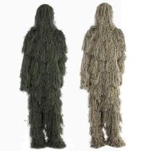 Камуфляжный костюм для охоты, Маскировочный охотничий костюм для воздушной съемки, снайперские костюмы, камуфляжная одежда с чехлом, горячая распродажа