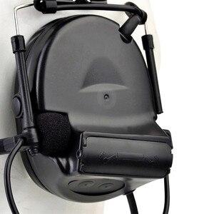 Image 5 - Z Tac التكتيكية سماعة بلتور كومتاك II خوذة سماعة رأس للملاحة Airsoft نشط سماعة العسكرية اطلاق النار سماعات Softair