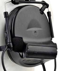 Image 5 - Z Tac Tactical Headset Peltor Comtac II Helmet Aviation Headset Airsoft  Active Headset Military Shooting Headphones Softair