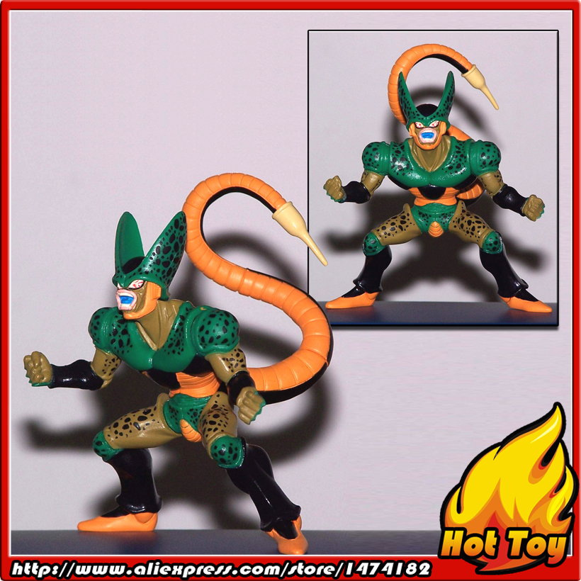 100% Original BANDAI Gashapon PVC Toy Figure HG Part 5 - Cell from Japan Anime Dragon Ball Z sailor moon capsule communication instrument machine accessory gashapon figure anime toy full set 100