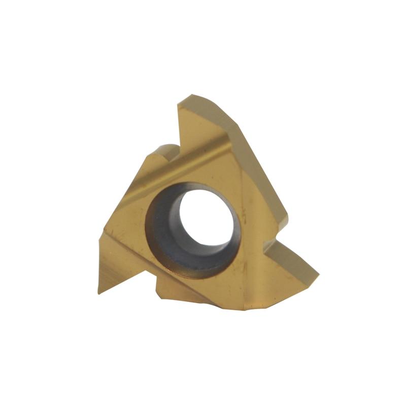 10pcs 16IR AG60 inserts Metal Blade Lathe Carbide Thread Cutting Turning Tool