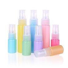 10 мл/30 мл мини пластиковые прозрачные маленькие портативные пустые бутылки для многоразового использования макияж косметический образец спрей бутылка контейнер