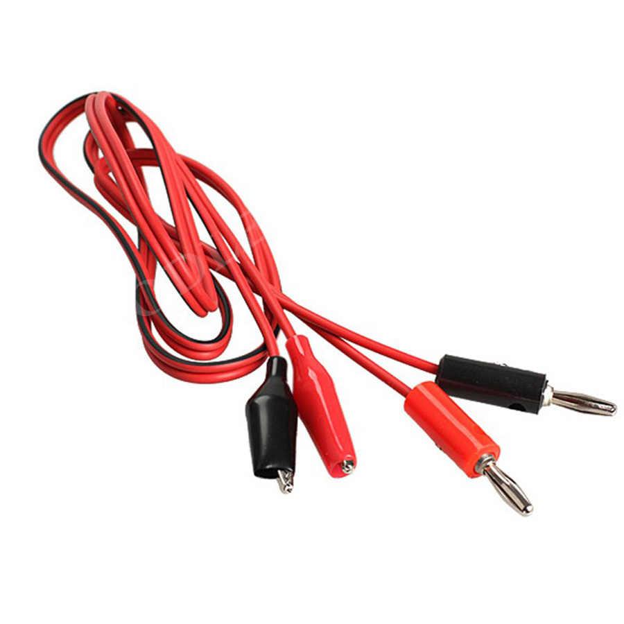 ¡Nuevo mejor precio! puntas de sonda de 1 M, dispositivo eléctrico completamente aislado, Clip de prueba de plomo para conector Banana, Cable de sonda para multímetro