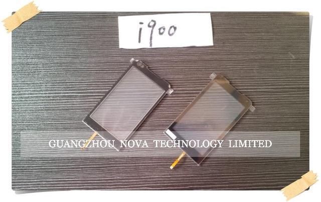Черный Дигитайзер Для Samsung I900 Touch Screen Digitizer Замена Стекла С Логотипом