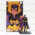 """Сумасшедшие Игрушки Бэтмен Batgirl Batwoman ПВХ Фигурку Коллекционная Модель Игрушки 7 """"18 см"""