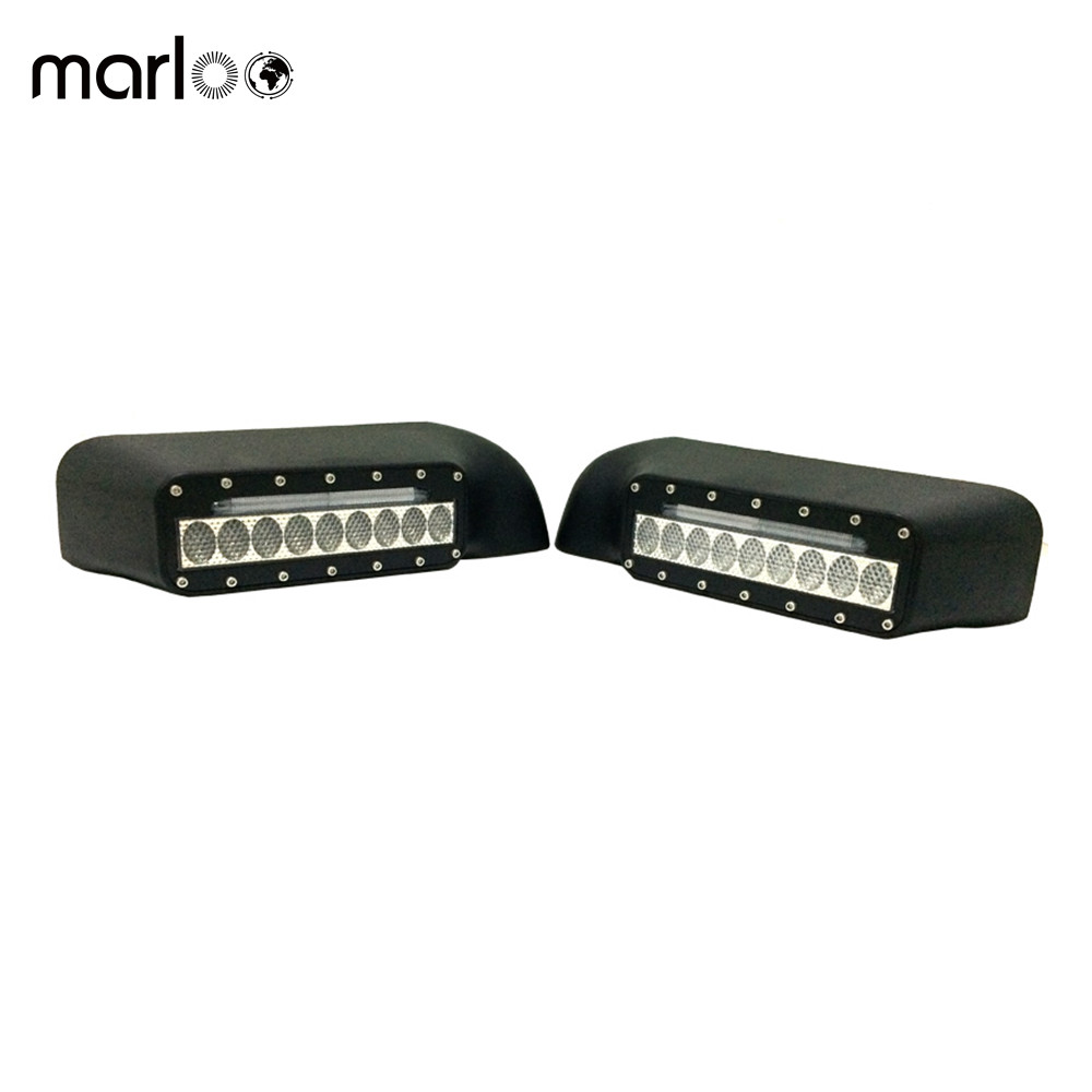 Marloo Car styling For Ford F150 Raptor Mirror Upgrade LED Light Kit